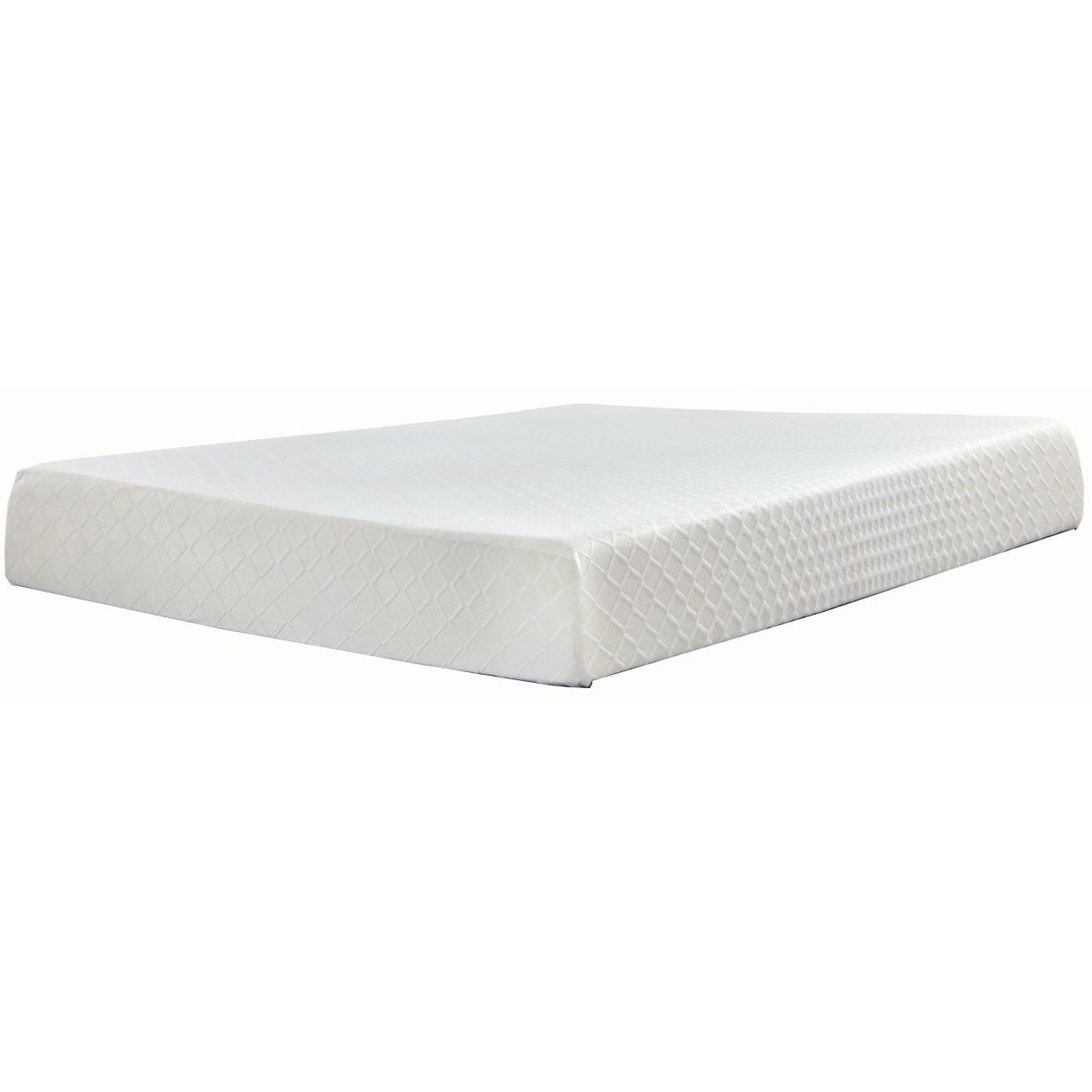 "M699 Chime 10 Queen 10"" Memory Foam Adj Set by SFC Mattress Co at Standard Furniture"