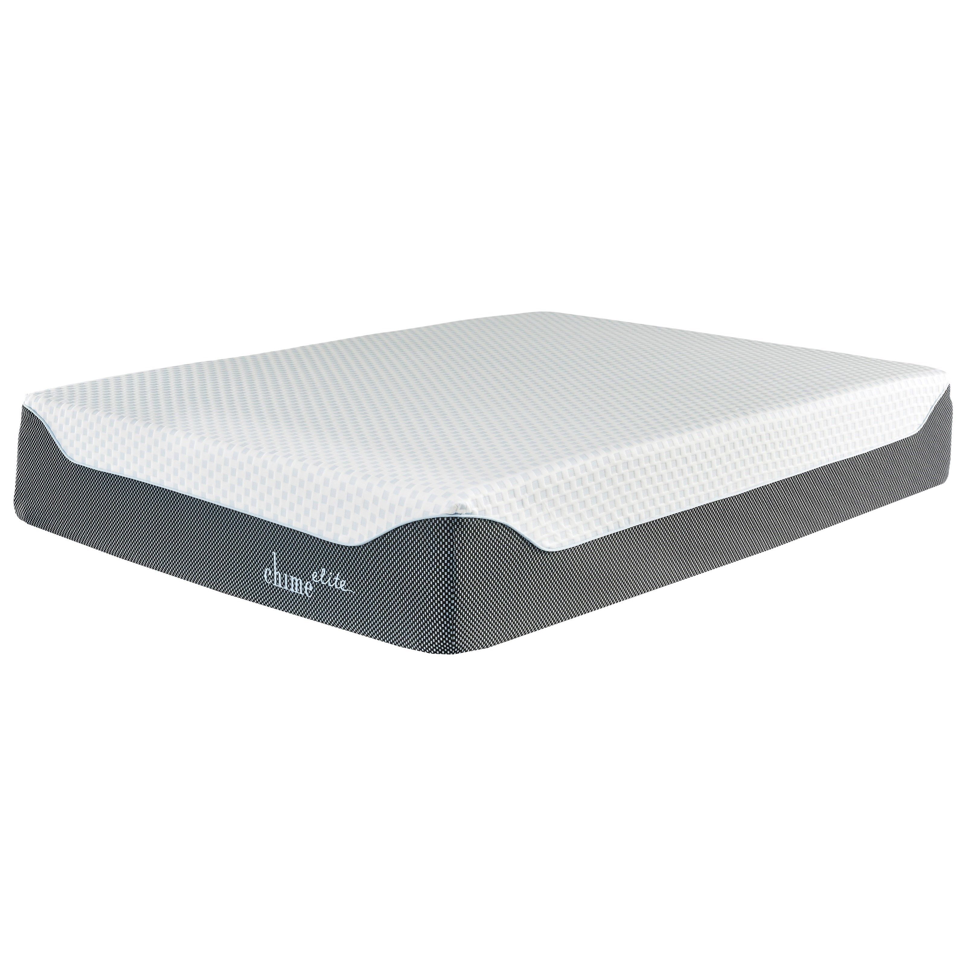 "M714 Chime 14 Elite Queen 14"" Gel Memory Foam Adjustable Set by Sierra Sleep at Simply Home by Lindy's"