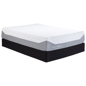 "Queen 13"" Memory Foam Mattress and Foundation"