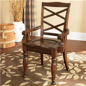 Wood Arm Chair