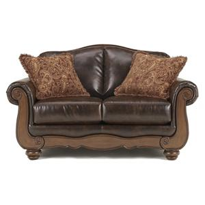 Signature Design by Ashley Barcelona - Antique Loveseat