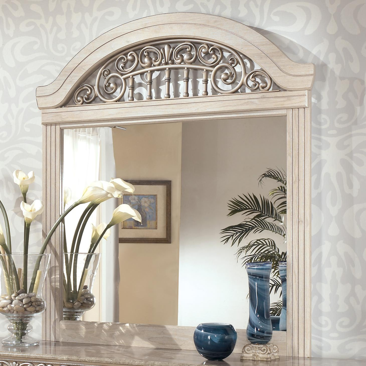 Catalina Dresser Mirror by Ashley (Signature Design) at Johnny Janosik