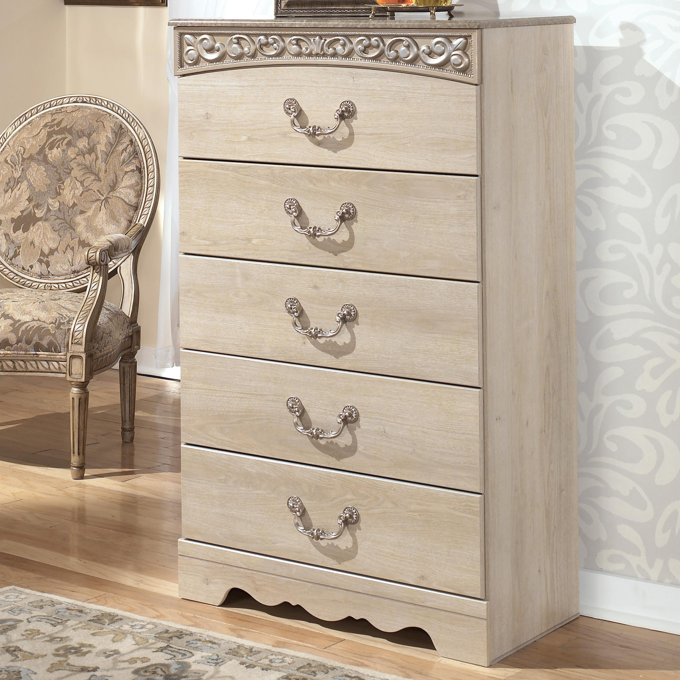 Catalina Chest of Drawers by Signature Design by Ashley at Northeast Factory Direct