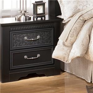 Signature Design by Ashley Furniture Cavallino Nightstand