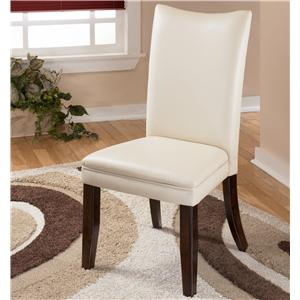 Ivory Upholstered Dining Side Chair