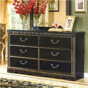 Signature Design by Ashley Coal Creek Dresser
