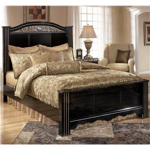 Signature Design by Ashley Furniture Constellations Queen Poster Bed