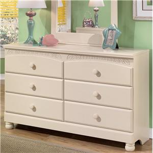 Signature Design by Ashley Cottage Retreat 6 Drawer Dresser