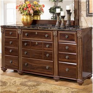 Signature Design by Ashley Gabriela 9 Drawer Dresser