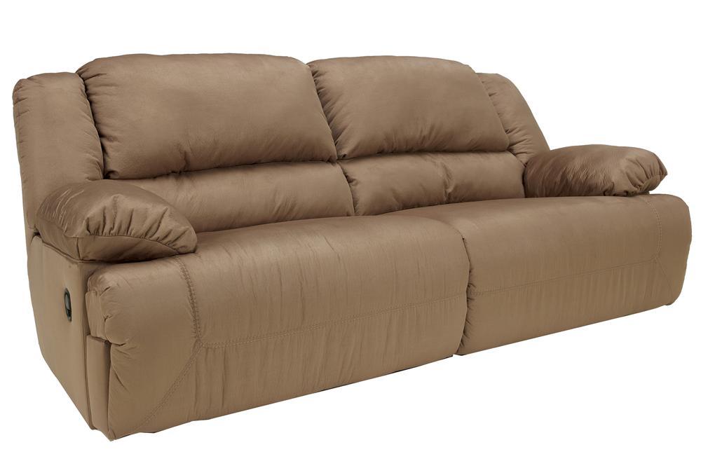 Hogan - Mocha Reclining Sofa by Ashley (Signature Design) at Johnny Janosik
