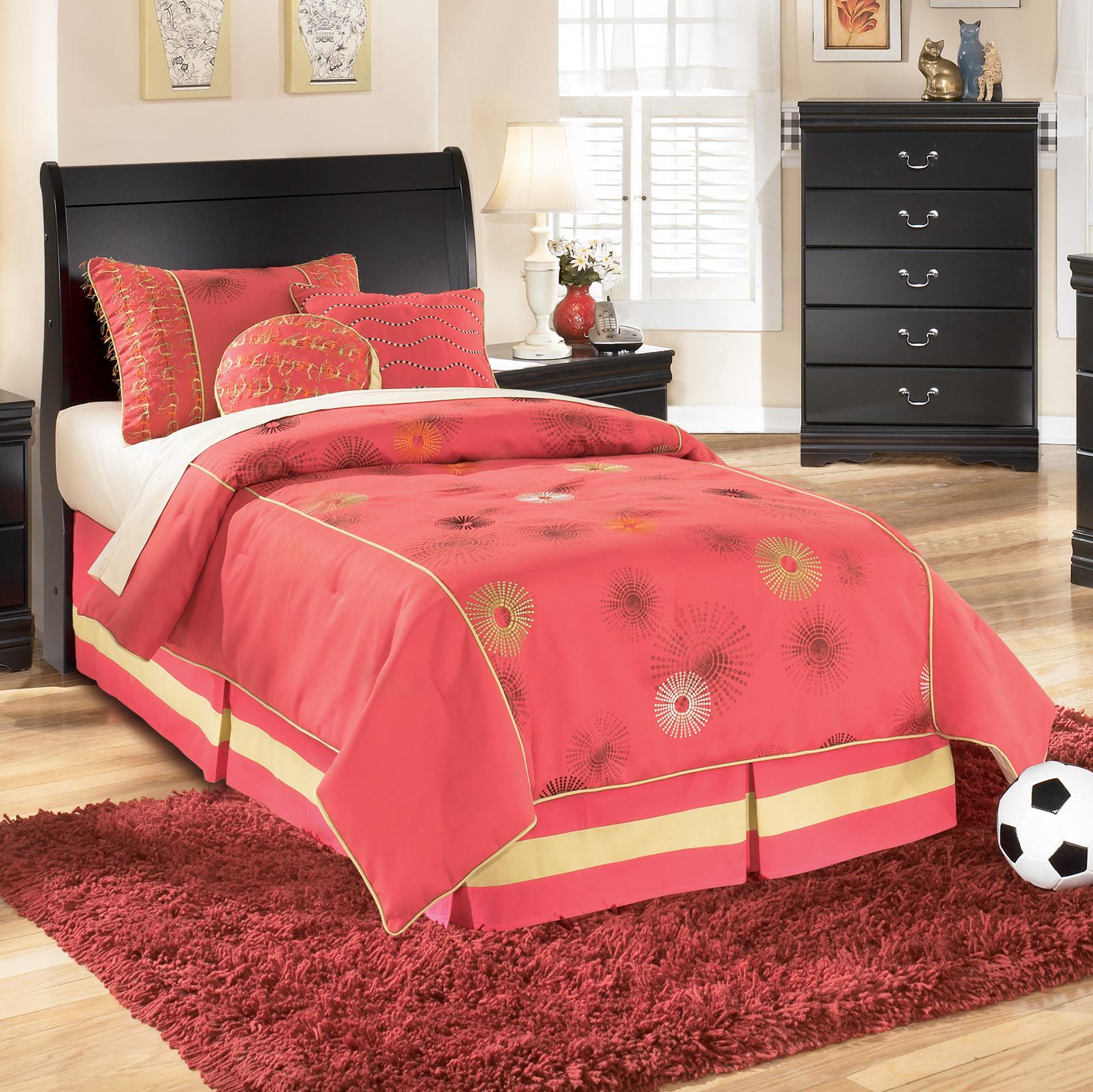 Huey Vineyard Twin Sleigh Headboard by Signature Design by Ashley at Furniture and ApplianceMart