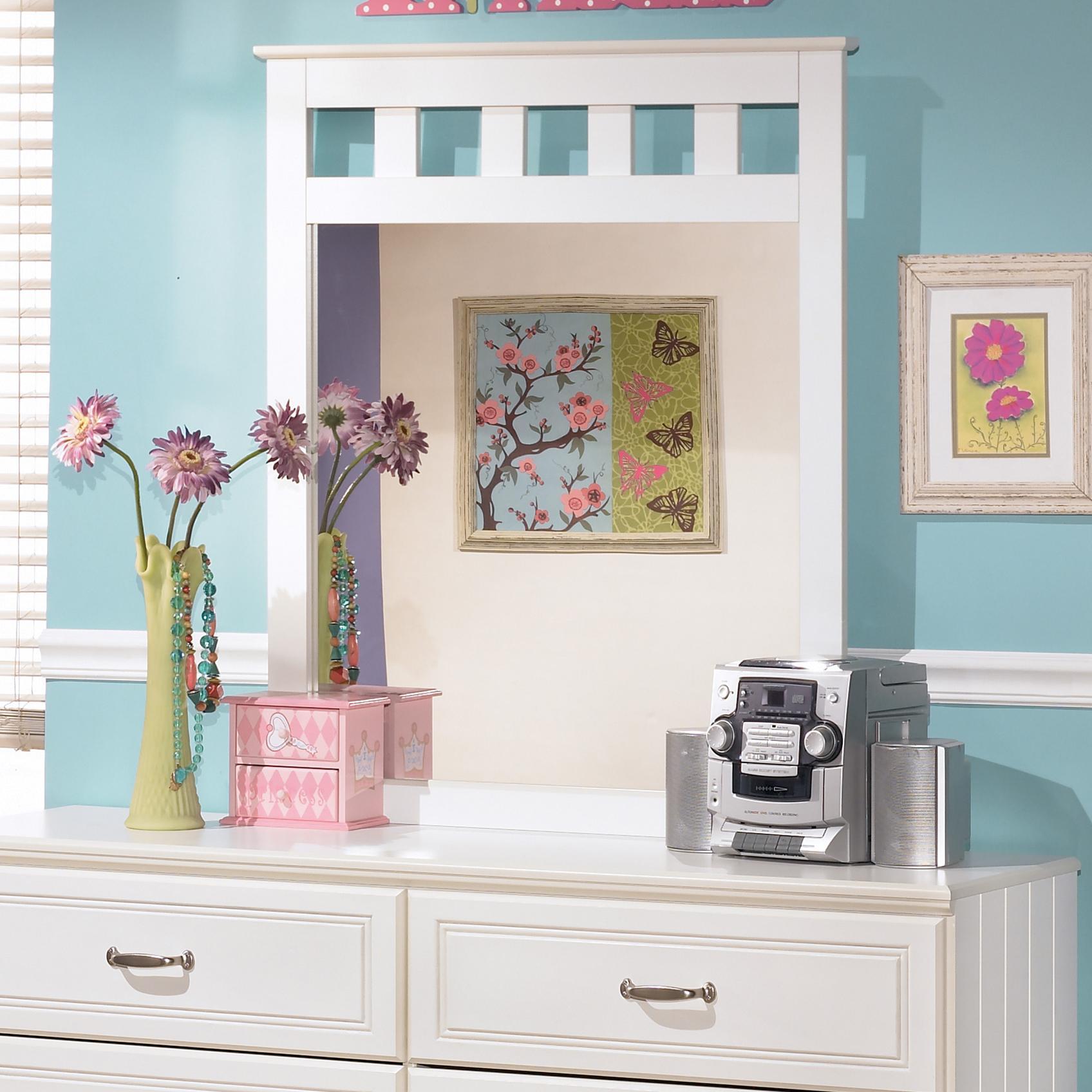 Lulu Mirror by Signature Design by Ashley at HomeWorld Furniture