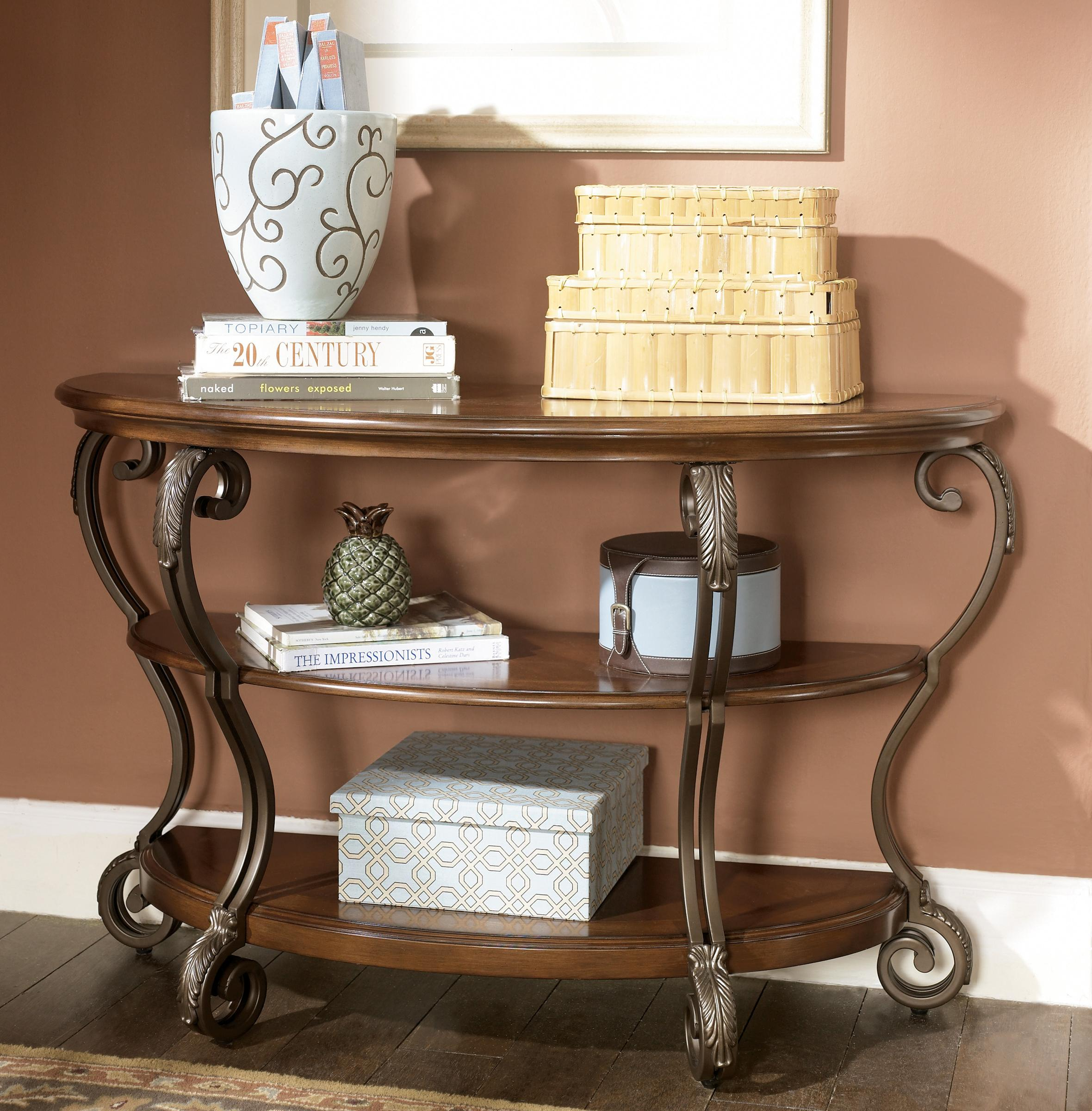 Nestor Sofa Table by Signature Design by Ashley at Beck's Furniture