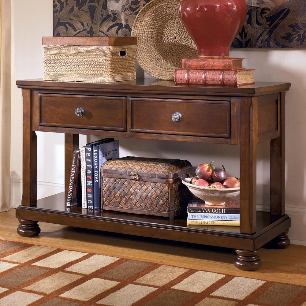 Porter Sofa Table/Media Console by Signature Design by Ashley at Beck's Furniture