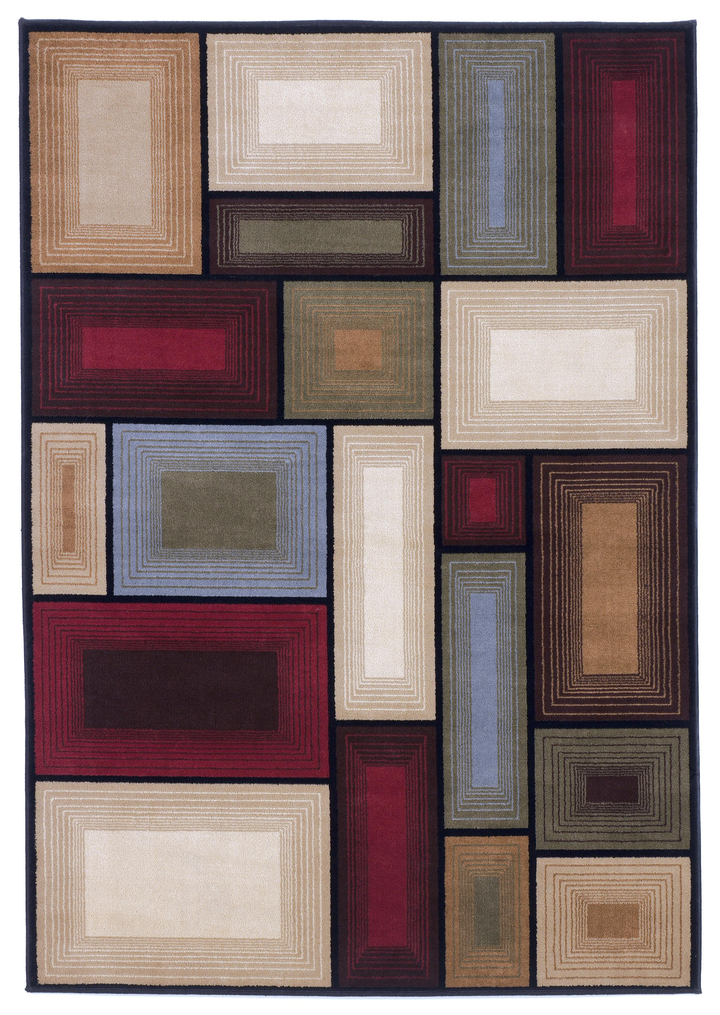 Contemporary Area Rugs Prism - Multi Rug by Signature Design by Ashley at HomeWorld Furniture