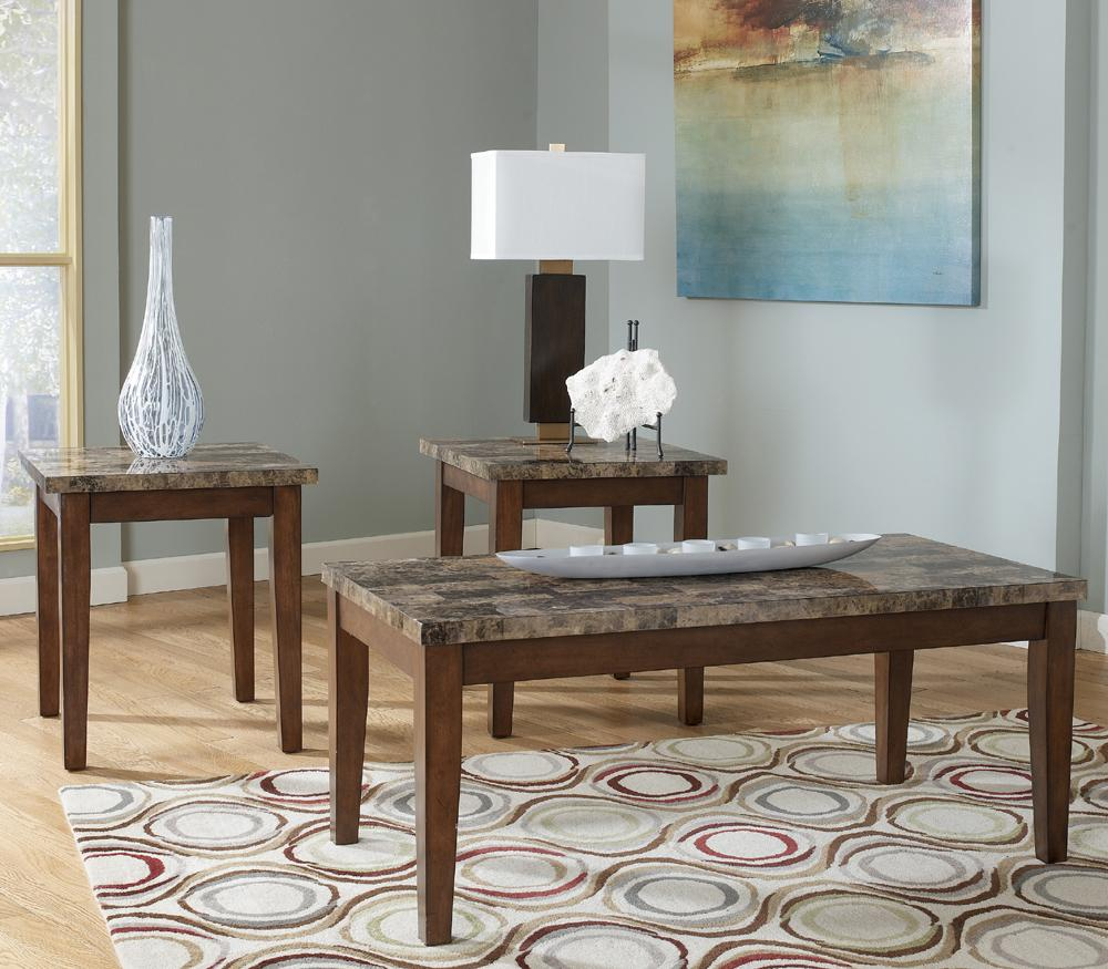 Theo 3-in-1 Pack of Occasional Tables by Ashley (Signature Design) at Johnny Janosik