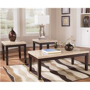 Signature Design by Ashley Wilder Occasional Table Set