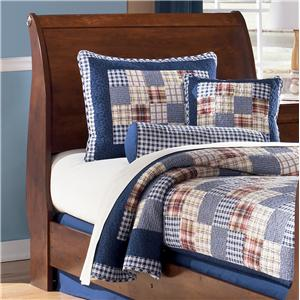 Signature Design by Ashley Furniture Wilmington Twin Sleigh Headboard (RTA)