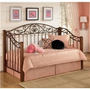 Signature Design By Ashley Cottage Retreat Day Bed With