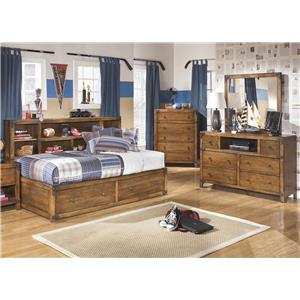 3-Piece Twin Storage Bedroom Set