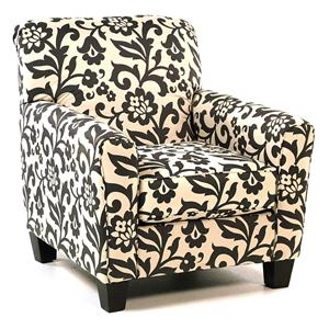 Central Park Accent Chair In Floral Print Rotmans