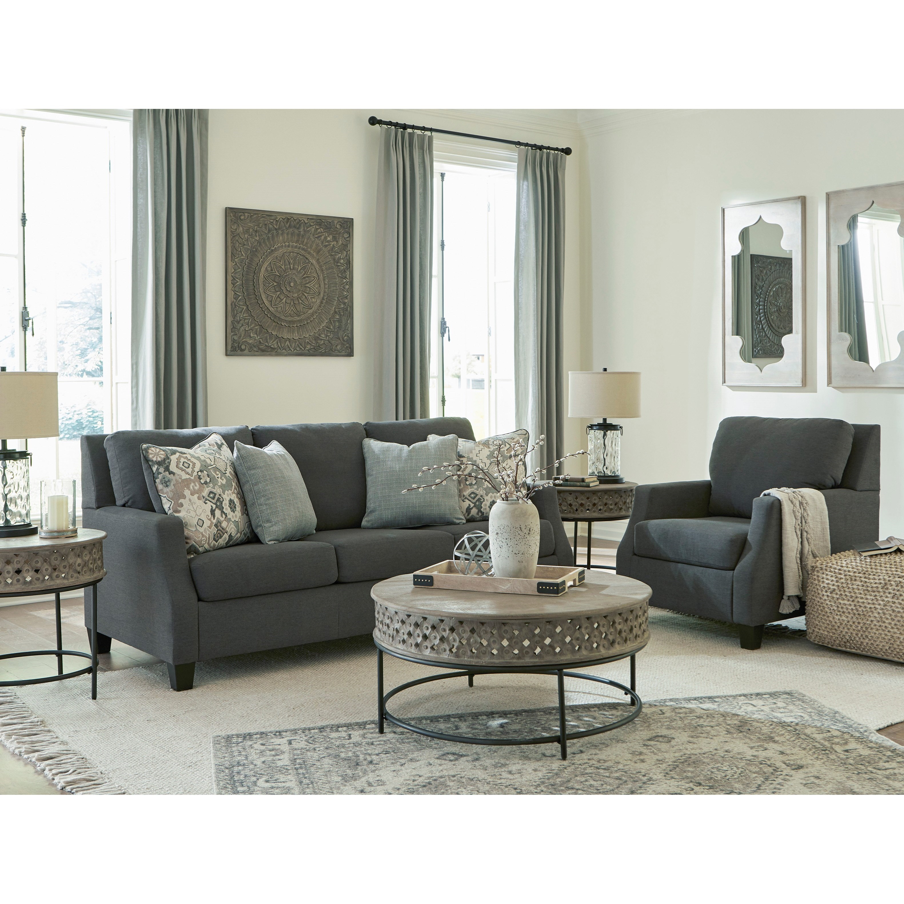 Bayonne Living Room Group by Signature Design by Ashley at Lapeer Furniture & Mattress Center
