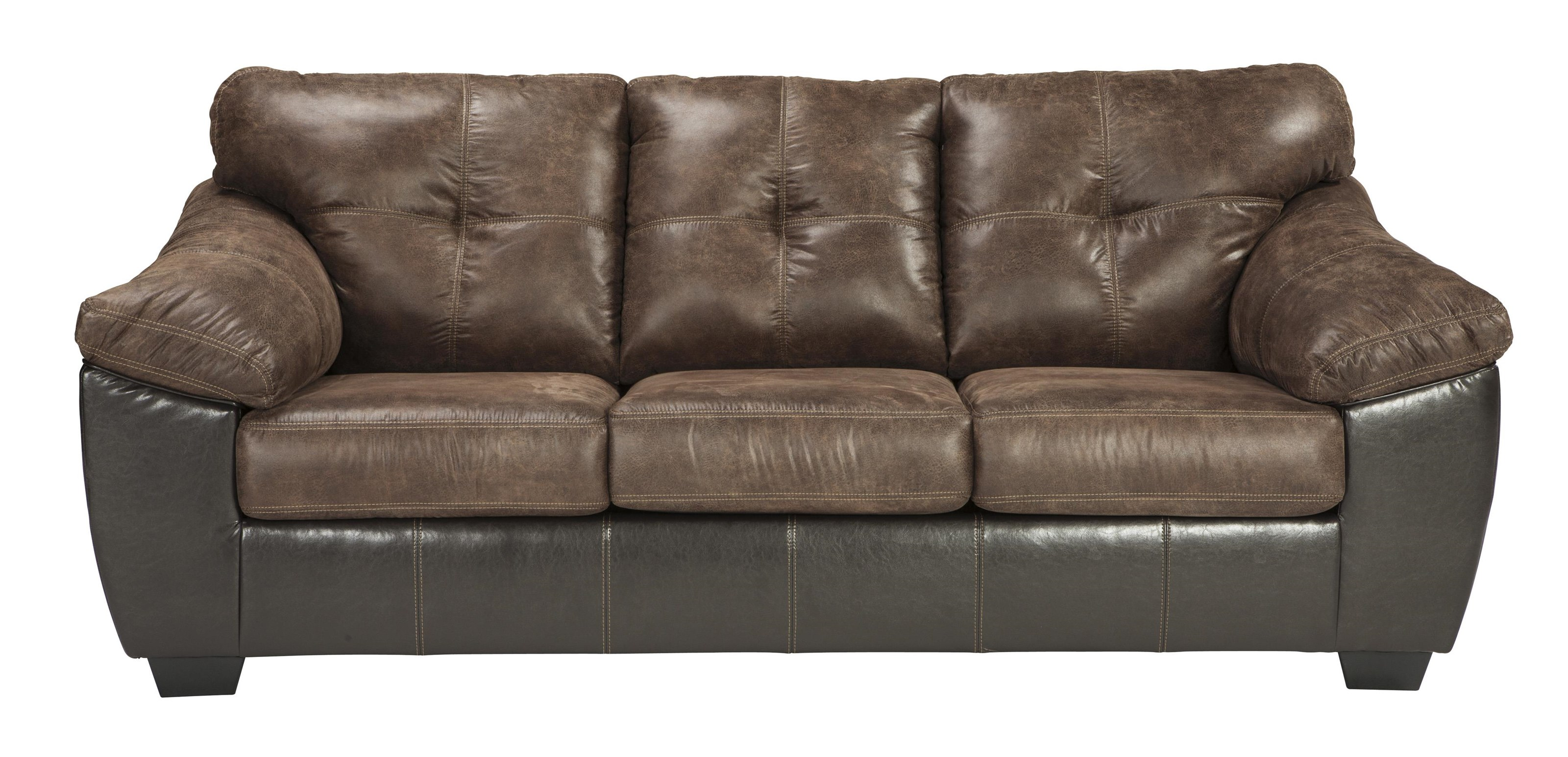 Gregale - 2 Tone Contemporary Stationary Sofa by Signature Design by Ashley at Westrich Furniture & Appliances