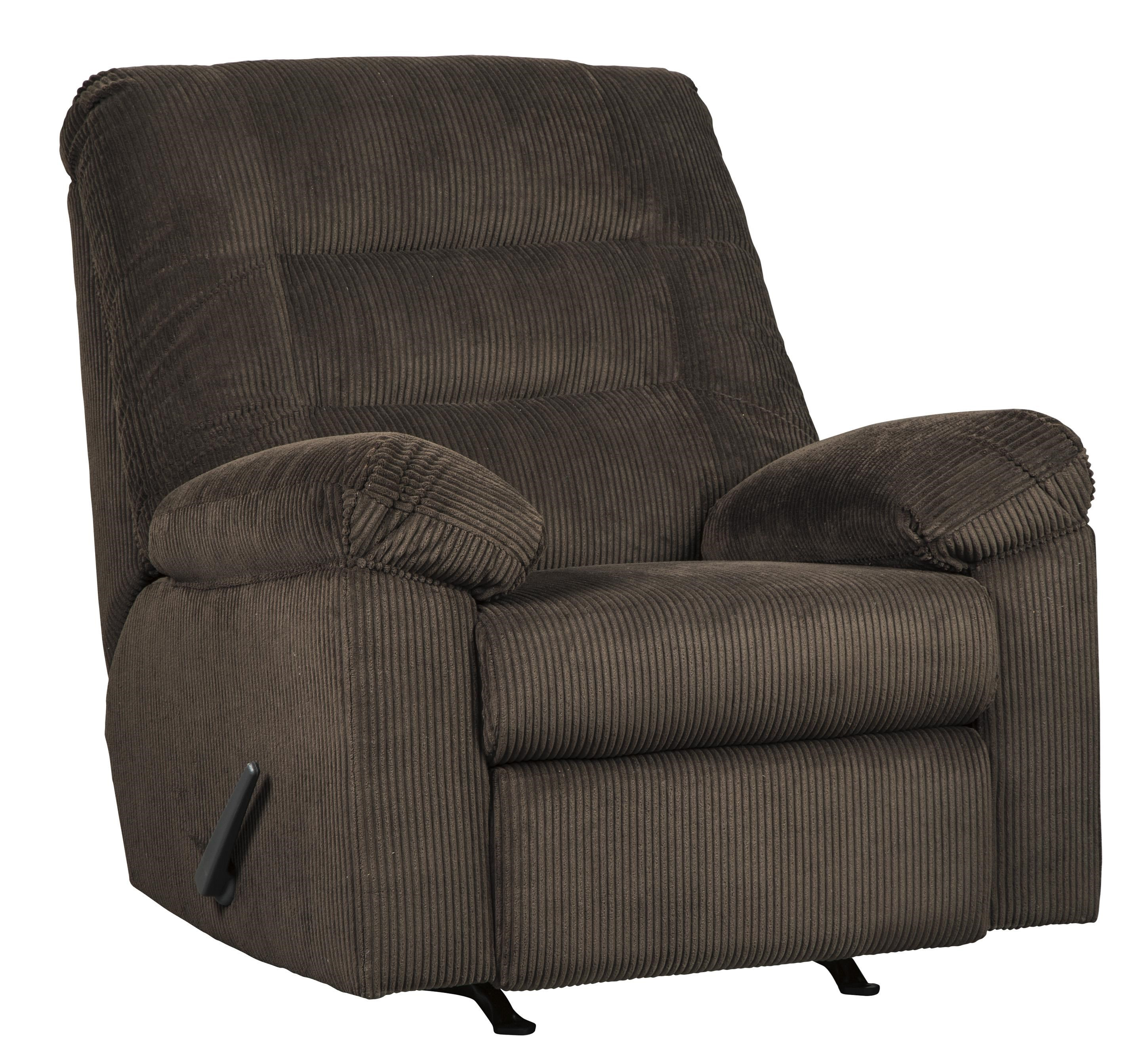 Gosnell Contemporary Rocker Recliner by Signature Design by Ashley at Westrich Furniture & Appliances