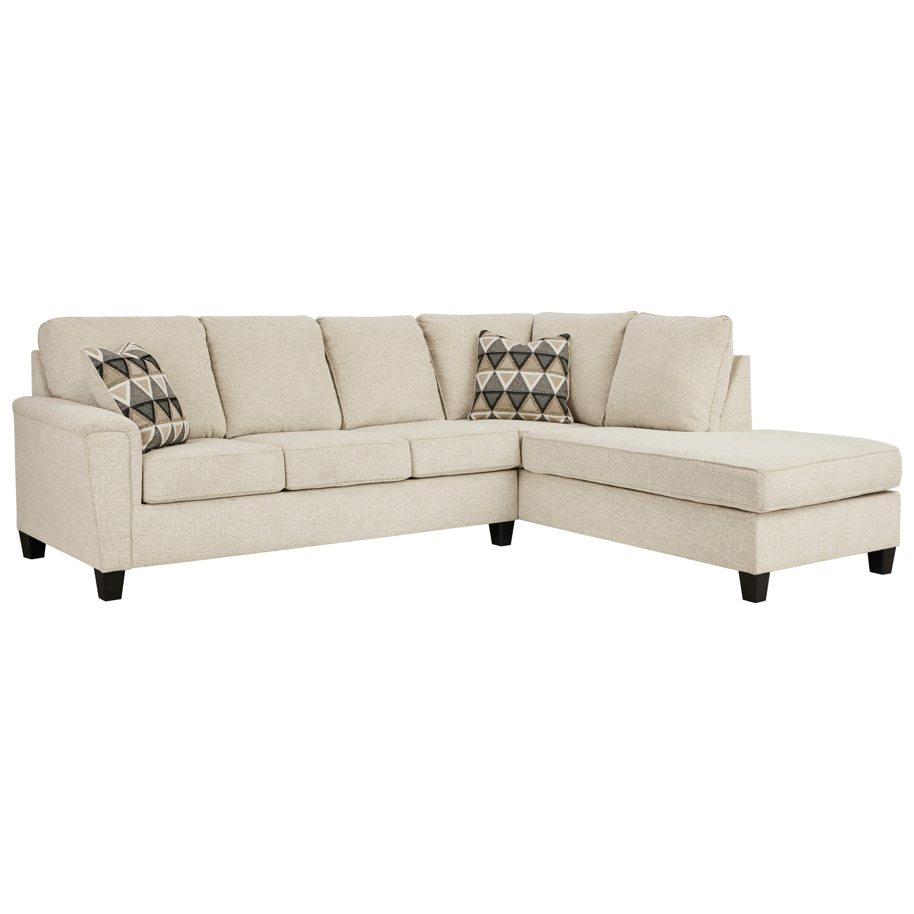 Abinger 2-Piece Sectional w/ Chaise and Sleeper by Signature Design by Ashley at Catalog Outlet