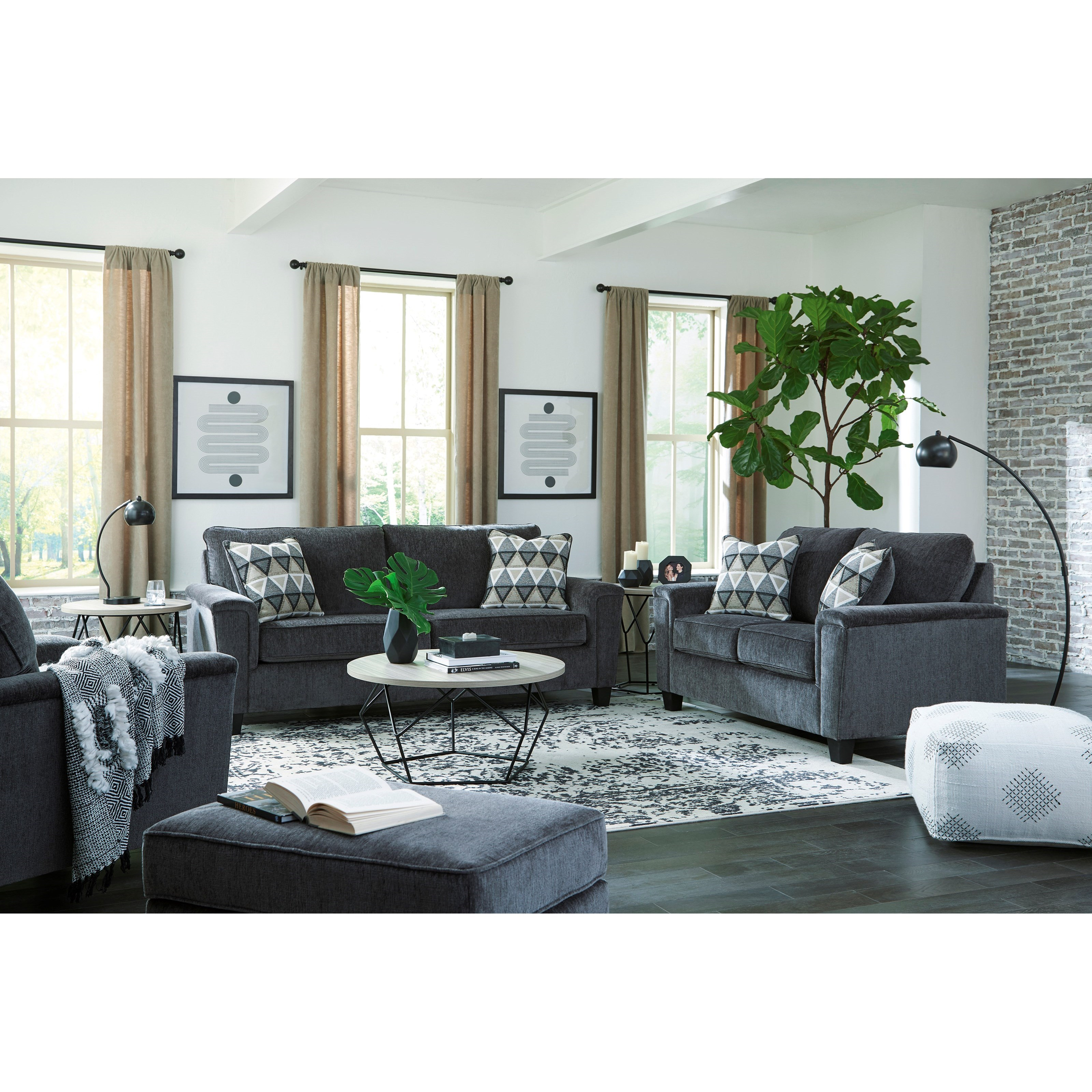 Abinger Living Room Group by Ashley Furniture Signature Design at Del Sol Furniture