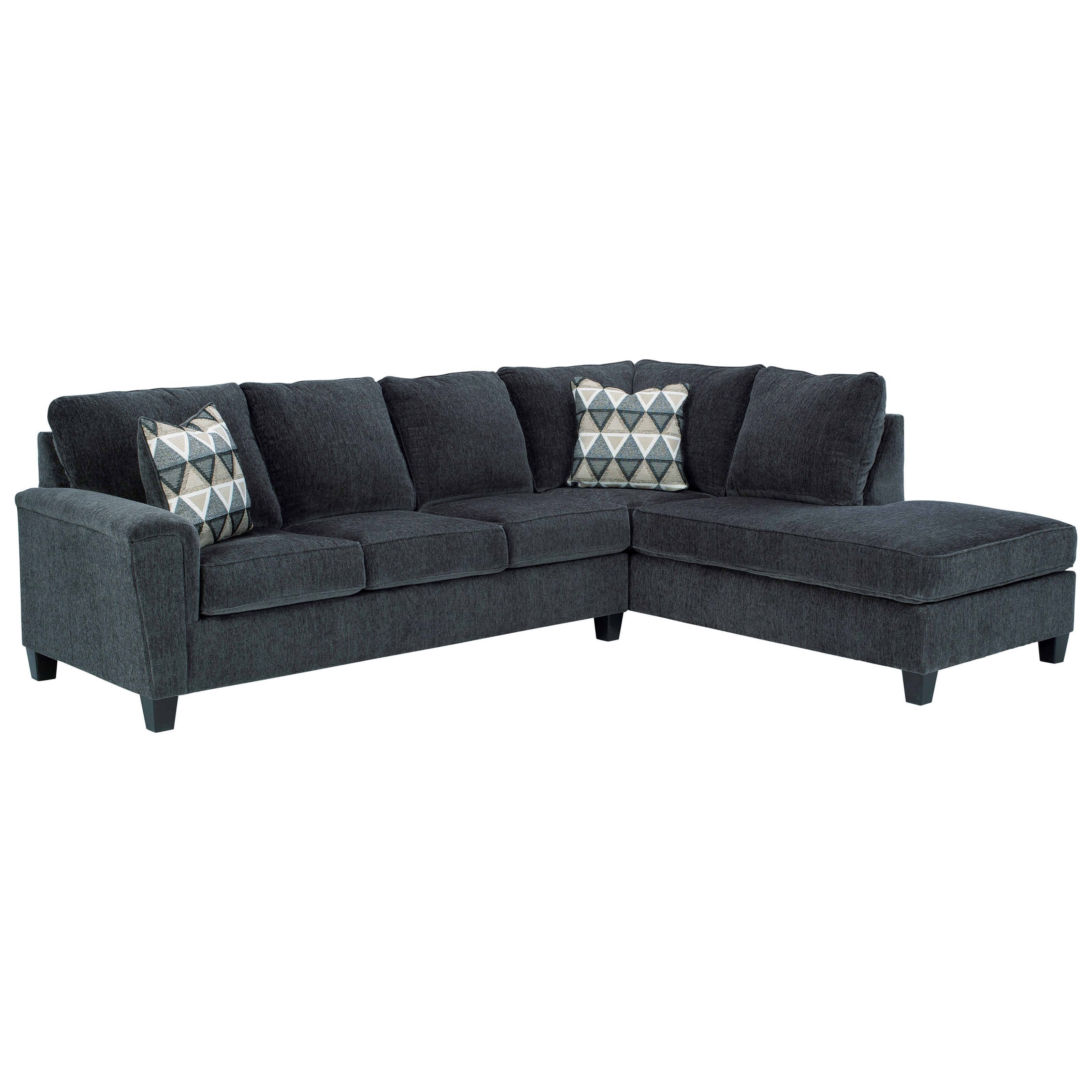 Abinger 2-Piece Sectional w/ Chaise and Sleeper by Michael Alan Select at Michael Alan Furniture & Design