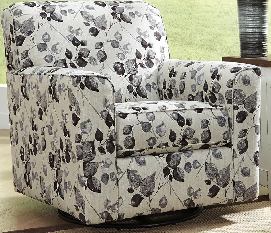 Abney Abney Swivel Chair by Ashley at Morris Home