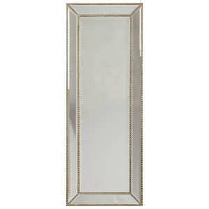Dhavala Silver Finish Accent Mirror