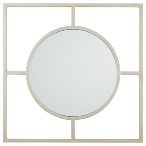 Signature Design by Ashley Accent Mirrors Druce Champagne Finish Accent Mirror