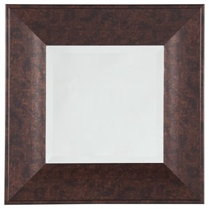 Signature Design by Ashley Accent Mirrors Duha Brown Accent Mirror