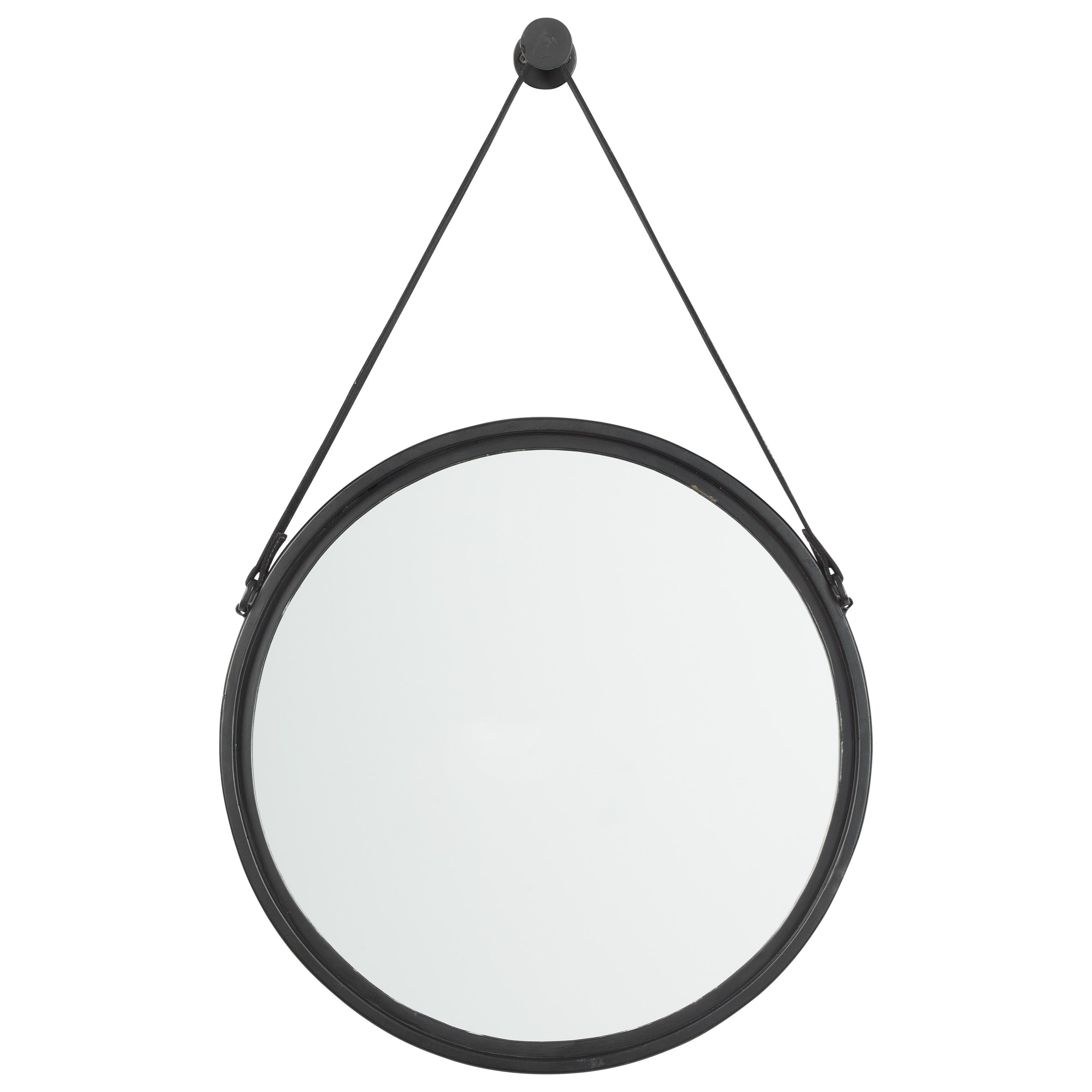 Accent Mirrors Dusan Black Accent Mirror by Signature Design by Ashley at Northeast Factory Direct