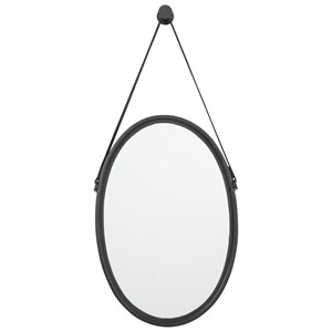 Signature Design by Ashley Accent Mirrors Dusan Black Accent Mirror