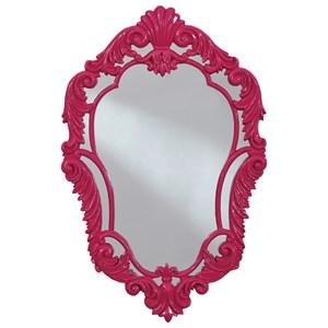 Diza Pink Accent Mirror