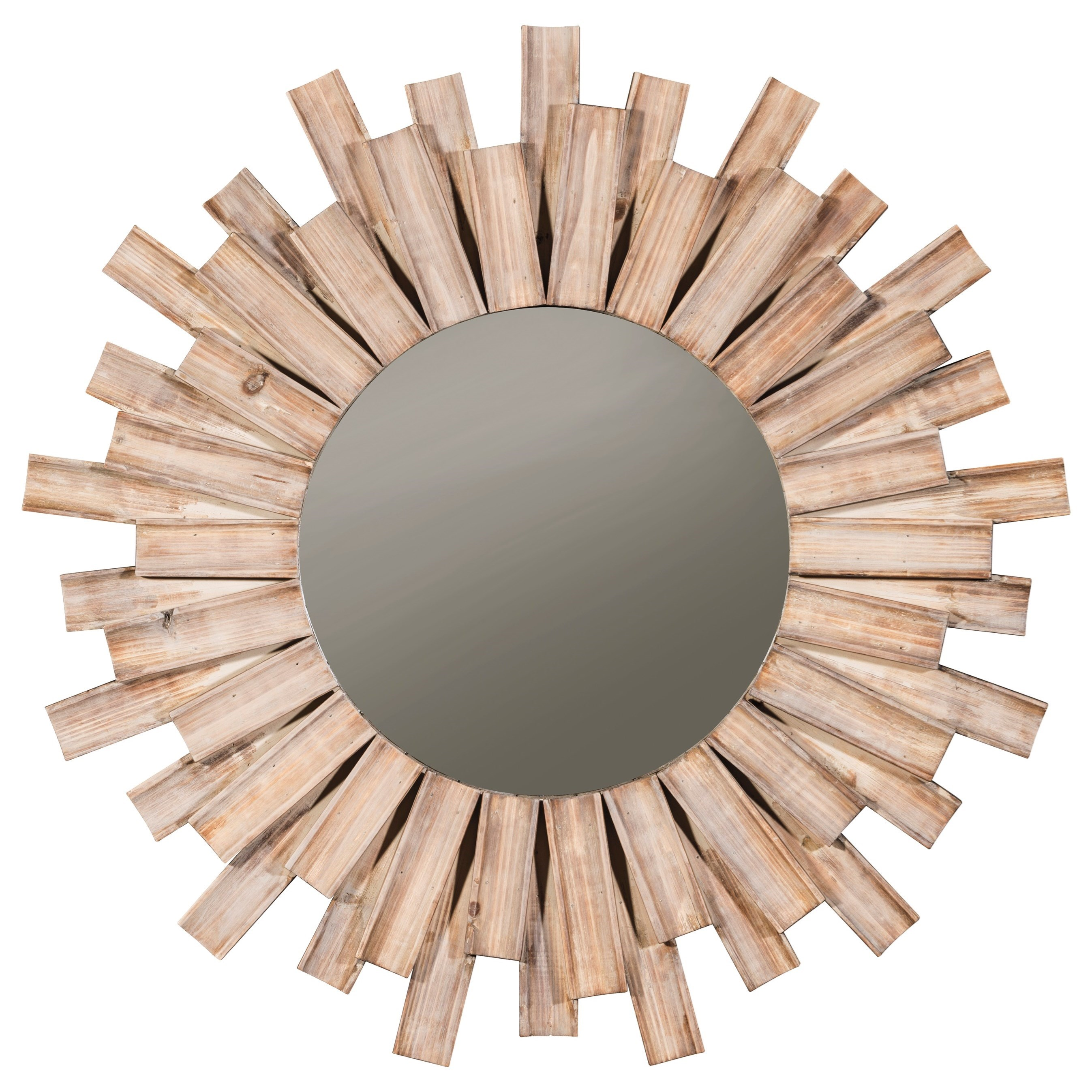 Accent Mirrors Donata Natural Accent Mirror by Signature Design at Fisher Home Furnishings