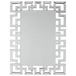Jasna Greek Key Accent Mirror