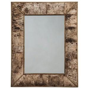 Josefa Brown Accent Mirror