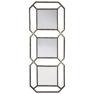 Savane Antique Gold Finish Accent Mirror