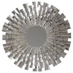 Zelenak Silver Finish Accent Mirror