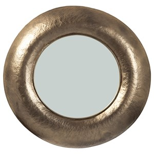 Jamesmour Antique Gold Accent Mirror