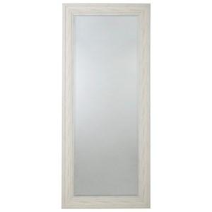 Jacee Antique White Floor Mirror