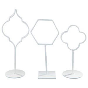 Signature Design by Ashley Accents Acotas Photo Holder (Set of 3)