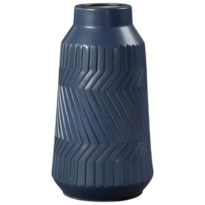 Doane Blue Vase