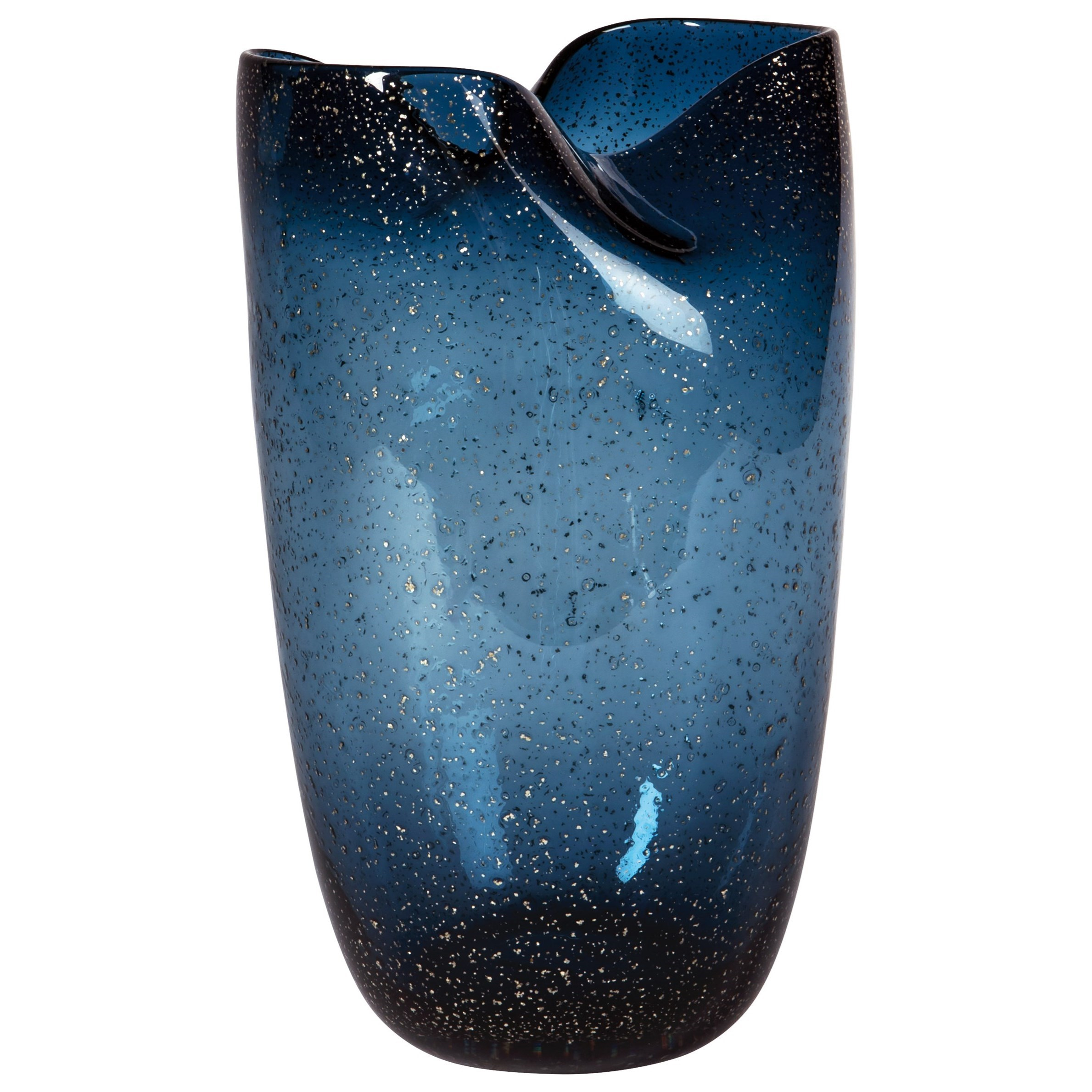 Accents Didrika Blue Vase by Ashley Furniture Signature Design at Del Sol Furniture