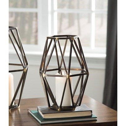 Devo Small Candle Holder at Sadler's Home Furnishings