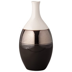 Dericia Brown/Cream Vase